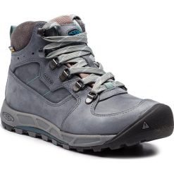 Trekkingi KEEN - Westward Mid Leather Wp 1020157 Turbulence/Stormy Weather. Niebieskie buty trekkingowe damskie Keen. W wyprzedaży za 419,00 zł.