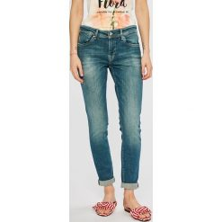 Pepe Jeans - Jeansy Joey. Niebieskie boyfriendy damskie Pepe Jeans. Za 399,90 zł.