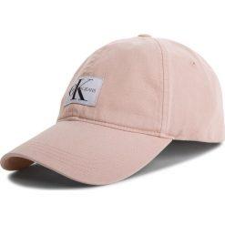 Czapka z daszkiem CALVIN KLEIN JEANS - J Monogram Cap W K40K400860 637. Czerwone czapki z daszkiem damskie Calvin Klein Jeans, z bawełny. Za 159,00 zł.