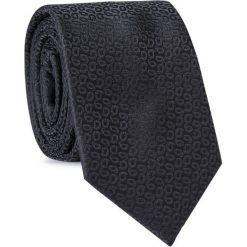 Krawat KWCR001623. Czarne krawaty męskie Giacomo Conti. Za 69,00 zł.