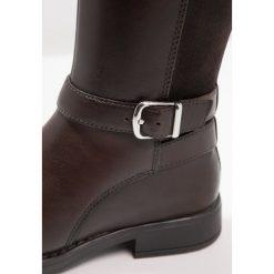 Geox SOFIA Kozaki coffee. Niebieskie buty zimowe damskie marki Roxy, z tworzywa sztucznego, na wysokim obcasie. W wyprzedaży za 175,60 zł.