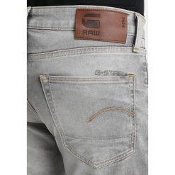 GStar 3301 SLIM Jeansy Slim Fit kamden grey stretch denim light aged. Szare jeansy męskie regular G-Star, z bawełny. Za 609,00 zł.