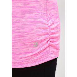 Raiski MILLY R+ Tshirt basic neon pink melange. Różowe topy sportowe damskie Raiski, z elastanu. W wyprzedaży za 126,75 zł.