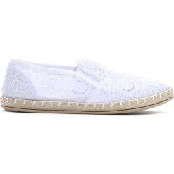 Buty sportowe dziewczęce: Białe Espadryle High Enough