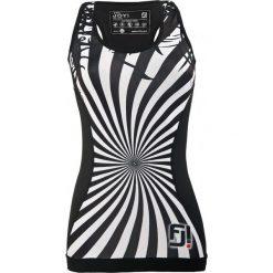 Feelj Koszulka damska Exclusive Shape Zebra czarno-biała r. L. Bluzki damskie Feelj!, l, z motywem zwierzęcym. Za 126,46 zł.