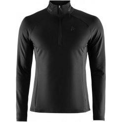 Craft Bluza Sportowa Męska Prep Black L. Białe bluzy męskie rozpinane marki Craft, m. Za 195,00 zł.