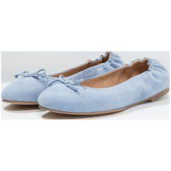 Baleriny damskie lakierowane: KIOMI Baleriny light blue