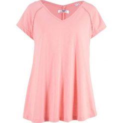 Odzież damska: Tunika, krótki rękaw bonprix jasnoróżowy cukierkowy