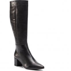 Kozaki HÖGL - 6-104923 Black 0100. Czarne buty zimowe damskie marki HÖGL, z materiału. W wyprzedaży za 659,00 zł.