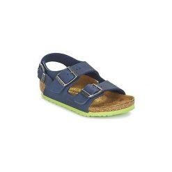 Sandały Dziecko  Birkenstock  MILANO. Niebieskie sandały chłopięce Birkenstock. Za 191,20 zł.