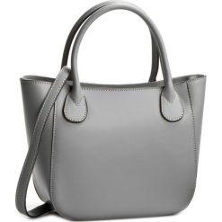 Torebka CREOLE - K10244  Szary. Szare torebki klasyczne damskie Creole, ze skóry. W wyprzedaży za 189,00 zł.