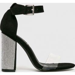 Truffle Collection - Sandały. Czarne sandały damskie na słupku marki Mohito. Za 149,90 zł.