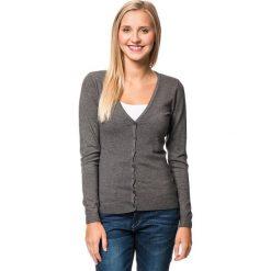 Kardigan w kolorze szarym. Szare swetry rozpinane męskie marki William de Faye, m, z kaszmiru. W wyprzedaży za 150,95 zł.