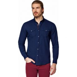 Koszula Jeansowa Granatowa Baywiew. Niebieskie koszule męskie jeansowe LANCERTO, m. W wyprzedaży za 199,90 zł.
