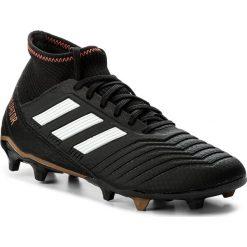 Buty skate męskie: Buty adidas - Predator 18.3 Fg CP9301 Cblack/Ftwwht/Solred