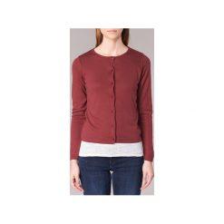Swetry rozpinane / Kardigany BOTD  EVANITOA. Czerwone kardigany damskie BOTD, l. Za 119,00 zł.