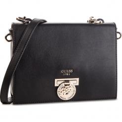 Torebka GUESS - HWVG71 77200 BLACK. Czarne torebki klasyczne damskie Guess, z aplikacjami, ze skóry ekologicznej. Za 679,00 zł.