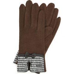Rękawiczki damskie 47-6-103-D. Czarne rękawiczki damskie marki Wittchen. Za 59,00 zł.