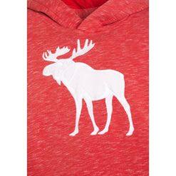 Abercrombie & Fitch CORE Bluza z kapturem red. Niebieskie bluzy chłopięce rozpinane marki Abercrombie & Fitch. W wyprzedaży za 125,30 zł.