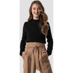 NA-KD Sweter z długim rękawem - Black. Czarne swetry klasyczne damskie NA-KD, z dzianiny. Za 161,95 zł.