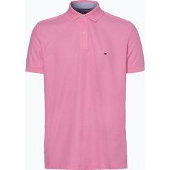 Tommy Hilfiger - Męska koszulka polo, różowy. Szare koszulki polo marki TOMMY HILFIGER, z bawełny. Za 199,95 zł.