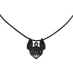 The Rogue + The Wolf Vampire Bat Choker Naszyjnik czarny. Czarne naszyjniki damskie marki Mohito. Za 99,90 zł.