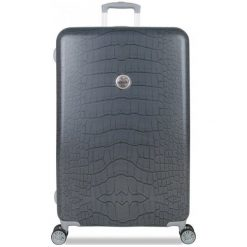 Suitsuit Walizka Grey Diamond Crocodile L. Szare walizki marki Suitsuit. Za 581,00 zł.