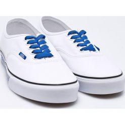 Vans - Tenisówki. Szare tenisówki męskie marki Vans, z gumy, na sznurówki. W wyprzedaży za 179,90 zł.