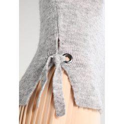 Swetry klasyczne damskie: Dorothy Perkins METAL EYELET Sweter grey