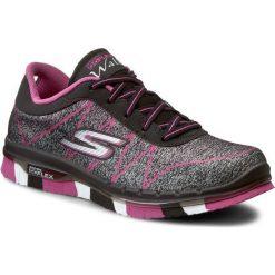 Buty SKECHERS - Ability 81082L/BKHP Black/Hot Pink. Czarne buty do fitnessu damskie Skechers, z materiału. W wyprzedaży za 169,00 zł.