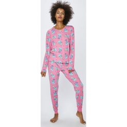 Chelsea Peers - Piżama. Szare piżamy damskie marki KALENJI, z elastanu. W wyprzedaży za 119,90 zł.