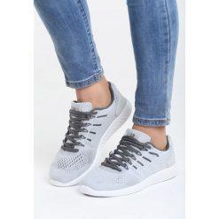 Jasnoszare Buty Sportowe Should I?. Pomarańczowe buty sportowe damskie marki Born2be, z materiału. Za 99,99 zł.