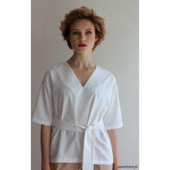 Bluzki, topy, tuniki: Bluzka KIMONO-LIKE WHITE