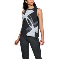 Under Armour Koszulka damska Muscle Tank Overla Logo czarna r. XS (1310481-001). Szare bluzki damskie marki Under Armour, z elastanu, sportowe. Za 75,80 zł.