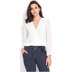 Charlotte Et Louis Bluzka Damska Dolores 38 Biały. Czarne bluzki z odkrytymi ramionami marki Fille Du Couturier, z bawełny. Za 169,00 zł.
