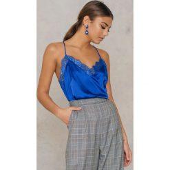 T-shirty damskie: Rut&Circle Koszulka na ramiączkach Cherry – Blue