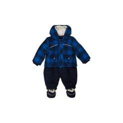 Kombinezony niemowlęce: KANZ Boys Baby Kombinezon zimowy yard check blue