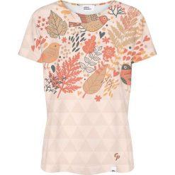 Colour Pleasure Koszulka damska CP-030 254 brzoskwiniowa r. M/L. Pomarańczowe bluzki damskie Colour pleasure, l. Za 70,35 zł.