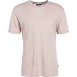 T-shirty męskie: J.LINDEBERG COMA CLEAN Tshirt basic oxford tan