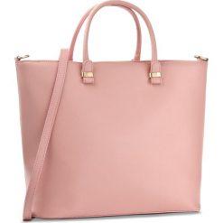 Torebka CREOLE - RBI10077 Różowy. Czerwone torebki klasyczne damskie marki Creole, ze skóry, duże. W wyprzedaży za 279,00 zł.