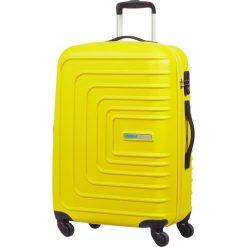 Walizki: Walizka w kolorze żółtym - 47 x 67 x 26 cm