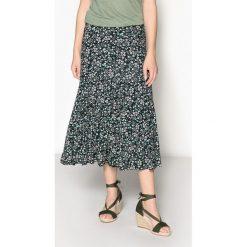 Spódniczki rozkloszowane: Spódnica rozszerzana, z nadrukiem, długość midi
