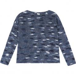 Sweter kaszmirowy w kolorze granatowym. Niebieskie swetry klasyczne damskie marki Ateliers de la Maille, z kaszmiru, z okrągłym kołnierzem. W wyprzedaży za 363,95 zł.