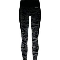 Hi-tec Spodnie Lady Siba 1/1Black Pattern/ Black r. L. Czarne spodnie sportowe damskie Hi-tec, l. Za 119,99 zł.