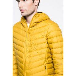 The North Face - Kurtka puchowa. Pomarańczowe kurtki męskie pikowane marki The North Face, m, z materiału, z kapturem. W wyprzedaży za 629,90 zł.