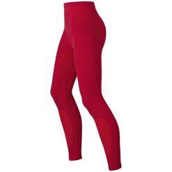 Odlo Spodnie Pants Long Evolution Warm czerwone r. L. Czerwone spodnie sportowe damskie marki Odlo, l. Za 102,59 zł.