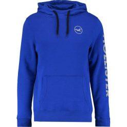 Bejsbolówki męskie: Hollister Co. LOGO Bluza z kapturem blue