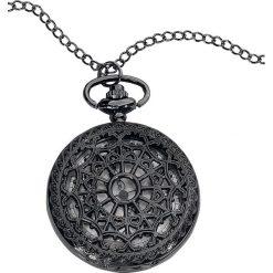 Naszyjniki damskie: Wildkitten Mandala Pocket Watch Zegarek - Naszyjnik czarny