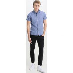 Koszule męskie na spinki: Knowledge Cotton Apparel SHORT SLEEVED Koszula strong blue