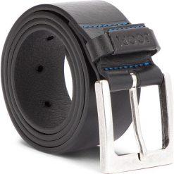 Pasek Męski JOOP! - JEANS 7514 85 10. Czarne paski męskie marki JOOP!, w paski, z jeansu. W wyprzedaży za 239,00 zł.